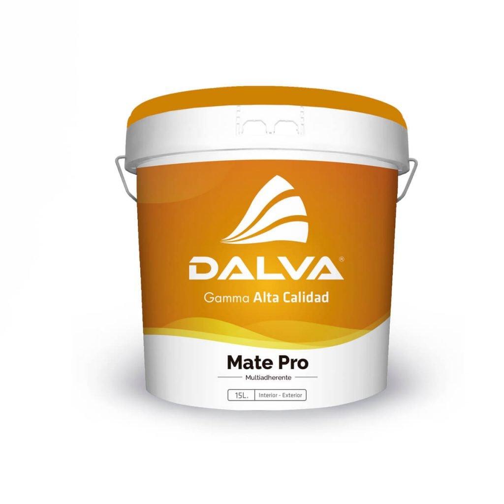 Latón de pintura con etiqueta naranja de la Gamma Alta Calidad de 15 litros de tipo Mate Pro Multiadherente para interior y exterior.