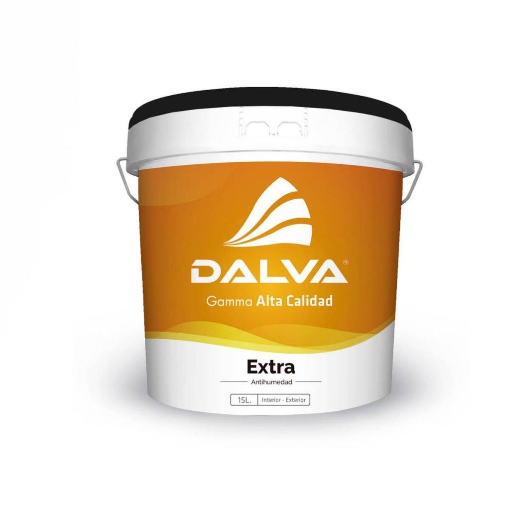 Latón de pintura con etiqueta naranja de la Gamma Alta Calidad de 15 litros de tipo Extra Antihumedad para interior y exterior.