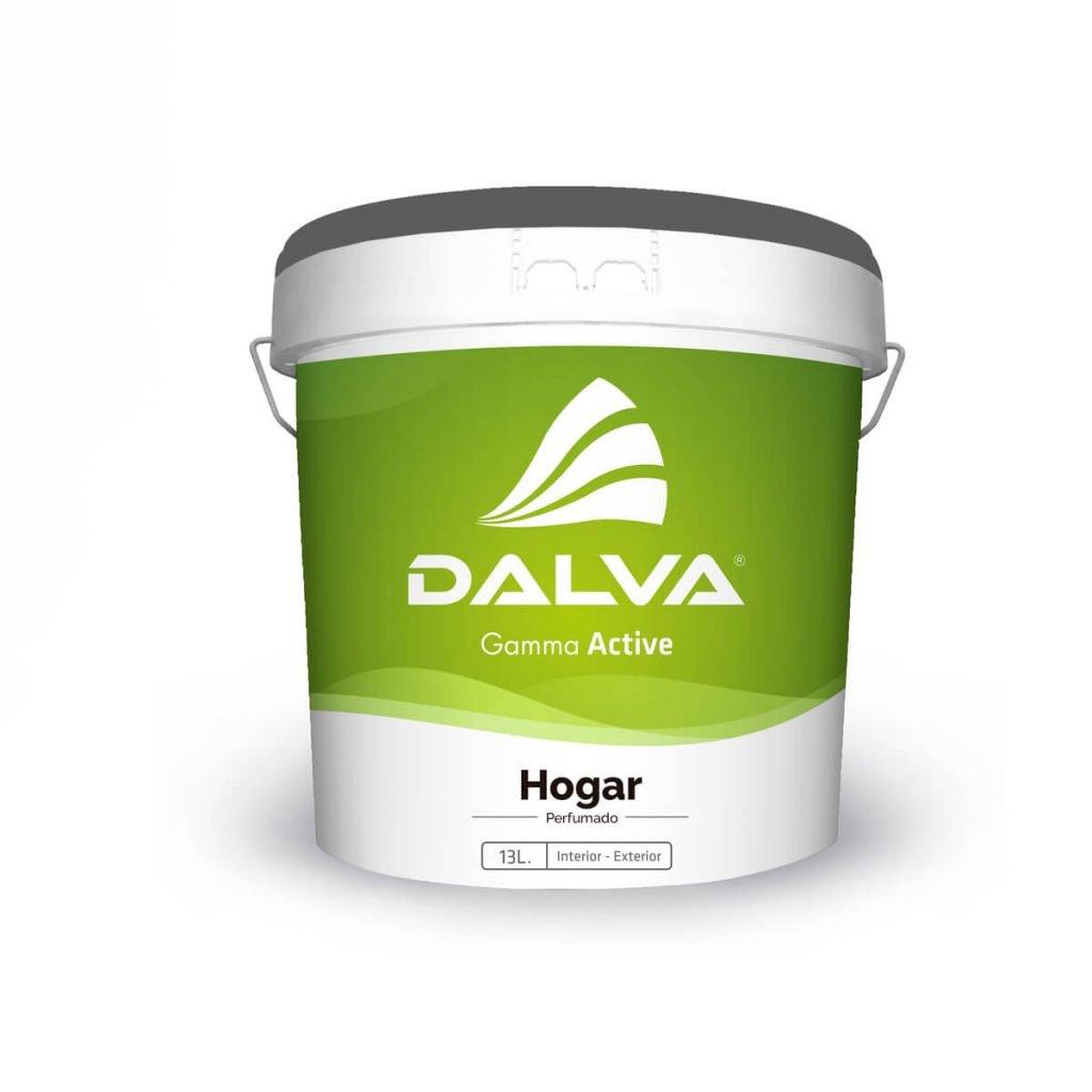 Latón de pintura con etiqueta de color verde de la Gamma Active de 13 litros de tipo Hogar para interior y exterior.