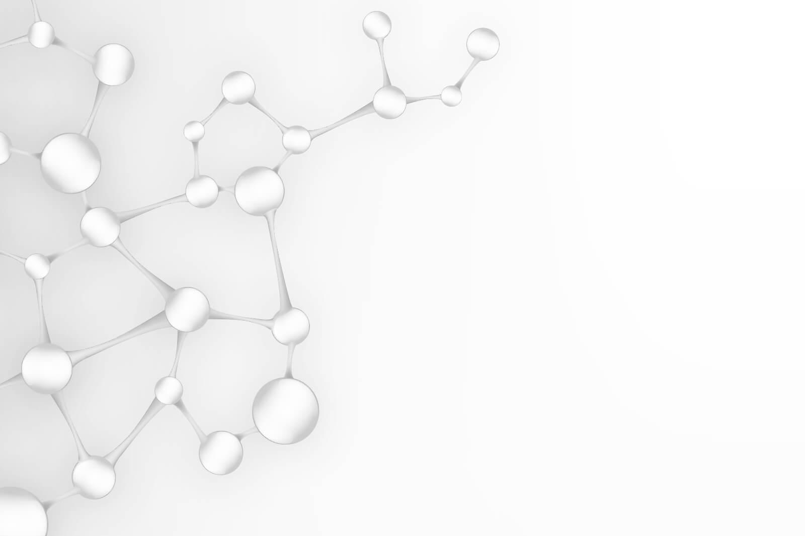 Imagen con un entramado de moléculas